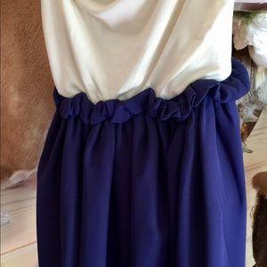 Savannah Rose strapless dress